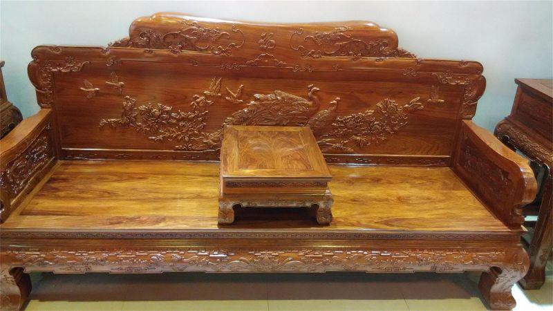 中国古典红木家具雕花纹饰寓意